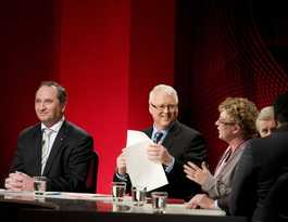 Ray Martin to review ABC's Q and A program