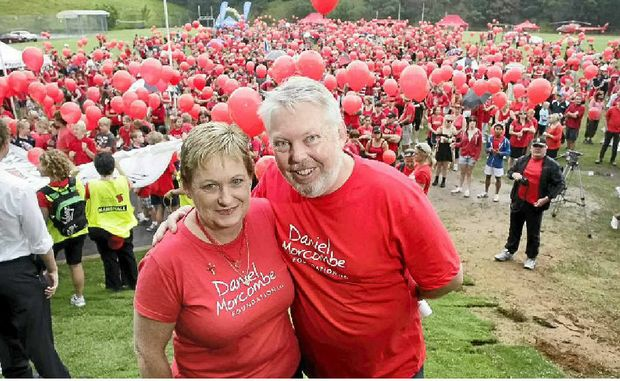 Denise and Bruce Morcombe are passionate about child safety.