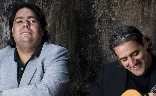William Barton and Anthony Garcia will perform at Noosa Longweekend for one night.