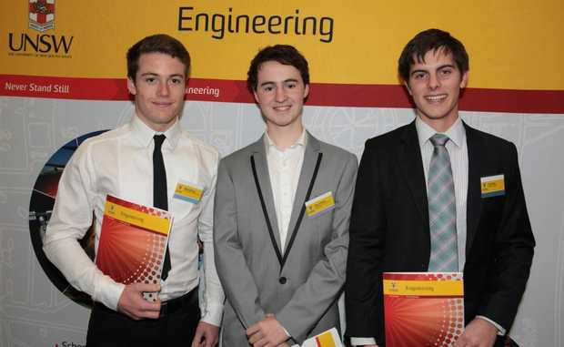 Award-winning former students Max Hastings, Rory Clifford and Tye Fraser continue to bring honour to Bishop Druitt College.