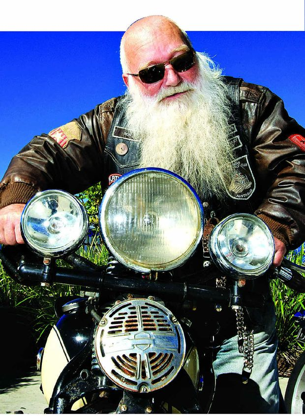 Ron Taylor and his mates from the Tweed Heads American Motorcycle Club will do a charity run this weekend.