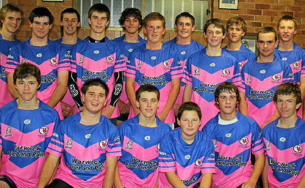 The under 16s Collegians will help raise much needed funds for the Kim Walters Choices Program today at the Father Ranger Oval.