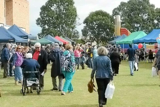 Massive crowds turned out to attend the Bundaberg High Centenary celebrations.