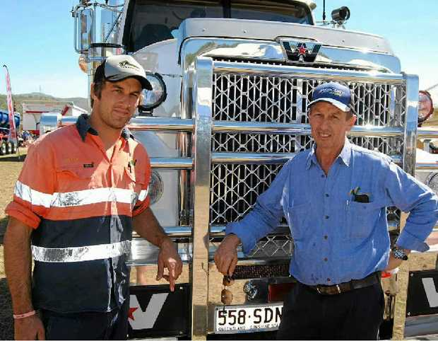 Seeton and Rod Battle from Nortrans and a new Western Star