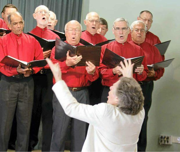 The Buderim Male Choir.