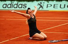 Maria Sharapova beat Sara Errani in the final of the women's singles at the French Open in Paris.