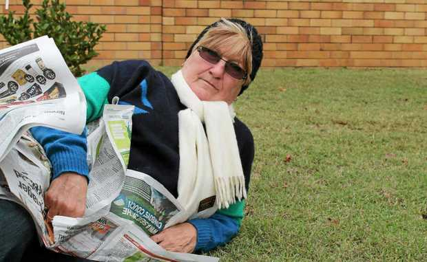Goomburra Forest Retreat's Margaret Cairns will spend the night on the street to raise money for the homeless.