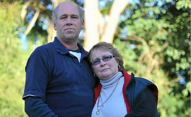 Brett and Bonnie Scovell are distraught after the death of their 21-year-old son Sean in a mining accident.