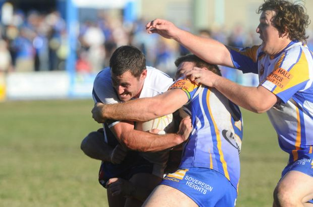 IT was yet another bash-a-thon between two classy Northern Rivers Regional Rugby League rivals at Grafton's McGuren Oval on Sunday.