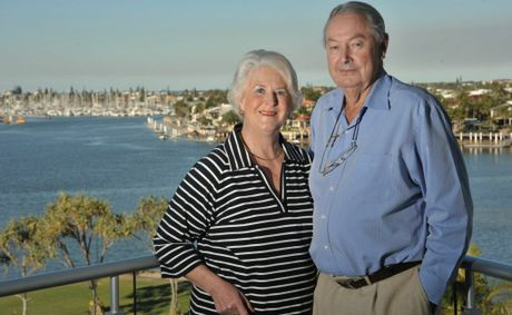 John and Ngaire Roberts were happy after the judgment following the sale of their home.