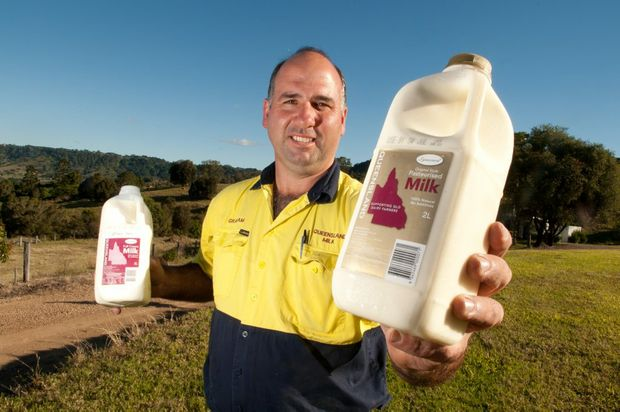 Dairy farmer Graham McIntyre secures a deal to supply local milk to Coles.