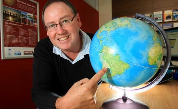 Andrew Moloney, who is the director of four Travelscene stores in the area, says the days of last-minute deals are over and it's all about booking early.