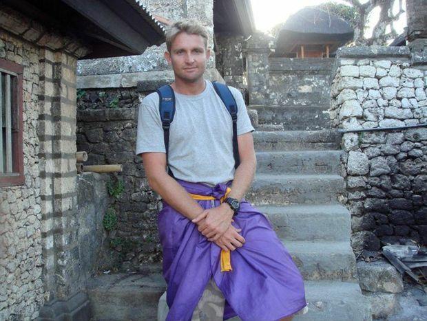Mark Ovenden in Bali.