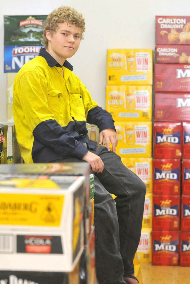 Nicklas McVeigh has been inundated by offers of help after his father's ad in the Daily Mercury offered a year's supply of beer for an electrical apprenticeship for Nicklas.