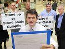 Jail petition at Grafton Shoppingworld