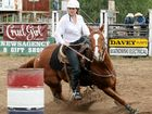Meg barrels onto USA rodeo scene