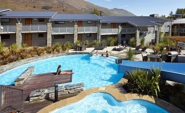 Guests enjoy warm suites and gorgeous mountain views at Wyndam Vacation Resorts in Wanaka.