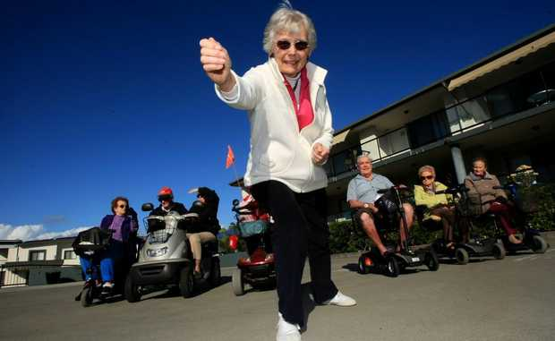 Tall Trees aged care preparing for aged Olympics with runner Ruth Keeler ready to go.