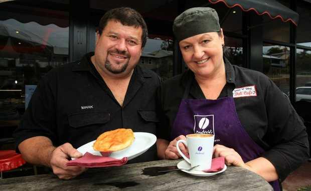 "Mark and Trisha Fendley at the Show ""N"" Shine deli-cafe, Bray Park."