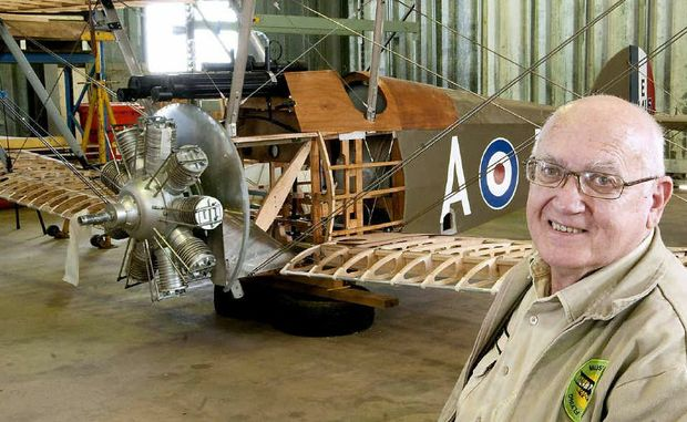 Retired army major Peter Ford will travel to England to research planes flown by Australians in the First World War.