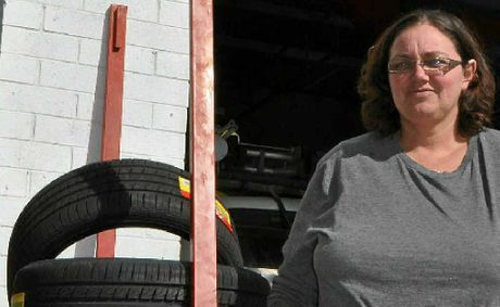 Kylie Atkinson from Eastside Tyre and Mechanical said it was rare for a car to pass a roadworthy first time round.