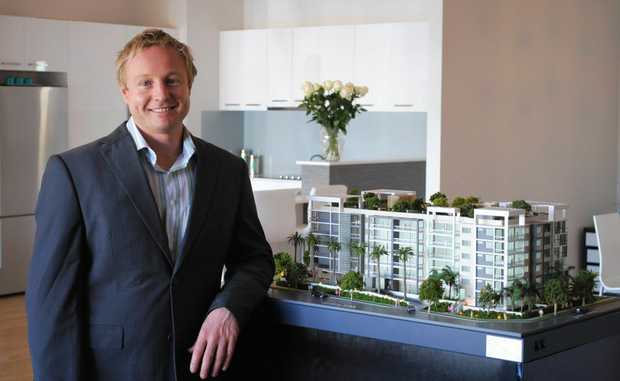 Ben Fuller, of Serene Living, is happy to see the project back on track.