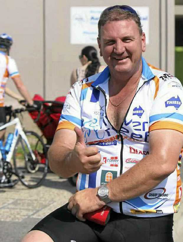 Shoal Point resident Nick Barry has raised almost $5000 to help with cancer research.