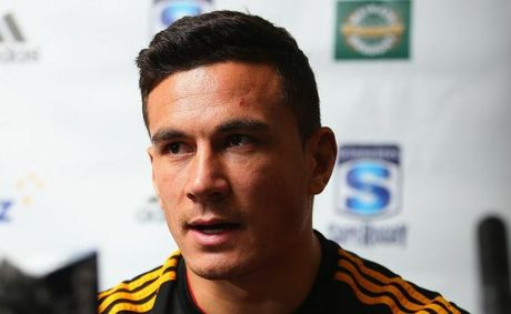 Sonny Bill Williams talks to the media during a press conference on July 9, 2012 in Hamilton, New Zealand. Williams has signed a deal with the Japanese rugby club Panasonic Wild Knights and will leave following the completion of the Super Rugby competition.