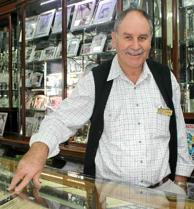 Warwick Watchmakers and Jewellers owner John Walsh said great customer service is part of the recipe for successful business.