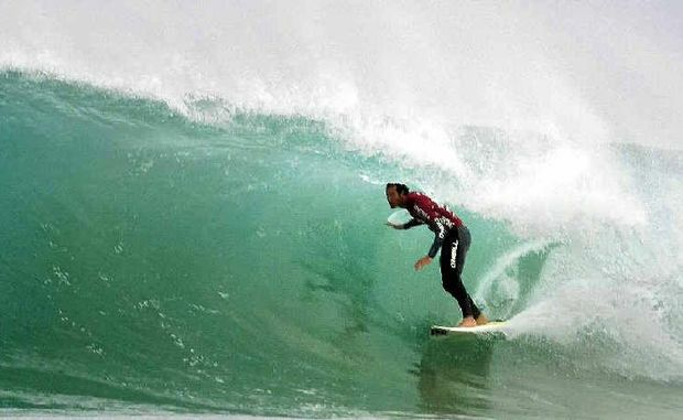 Defending champion Jordy Smith has been surfing brilliantly at the Billabong Pro Jeffreys Bay at Supertubes in South Africa.