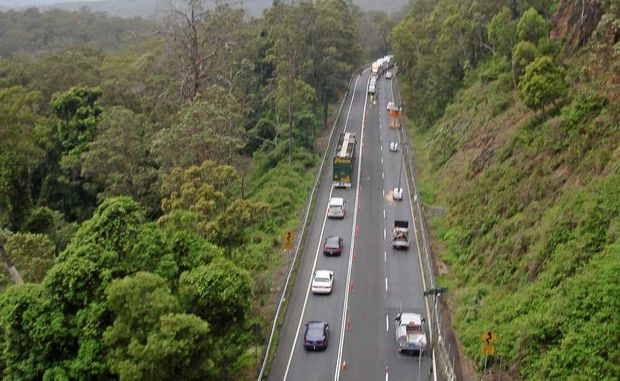 Motorists travel through Cunningham's Gap but Warwick's LNP Women want to see another option considered.