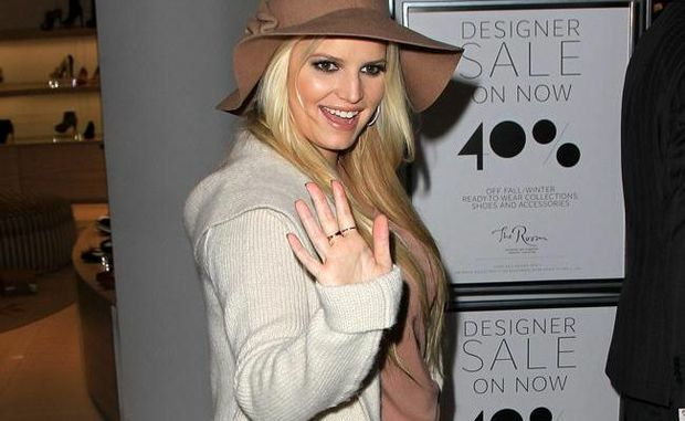 Jessica Simpson gained over 31 kilos during her pregnancy.