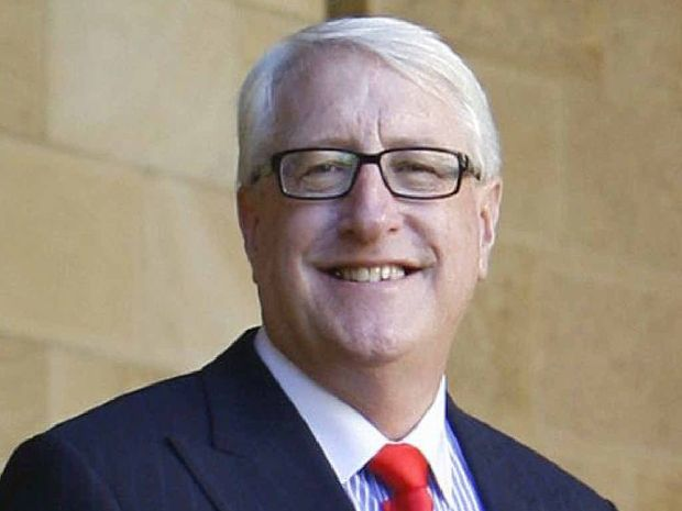 Ian Berry at Parliament House and in pictures which have accompanied the spoof MP Tweets.