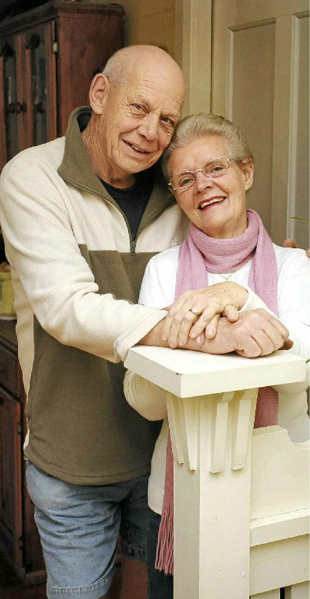 Ros and her husband Giles Mamet are still in love after 44 years of marriage.