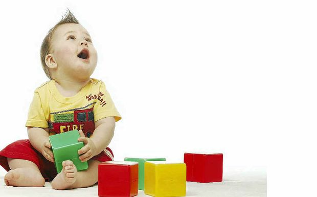 Building blocks are a great toy for toddlers.