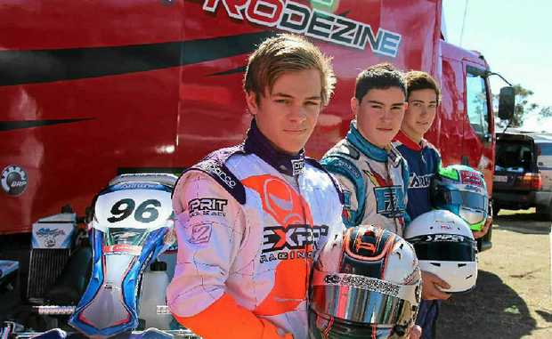 The top three junior racers in the Rotax Pro Tour Karting competition Joseph Burton-Harris, Thomas Randle and Liam McLellan will take to the track at Sandy Creek Raceway for the final round.