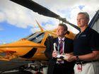 Chopper gets blood monitor