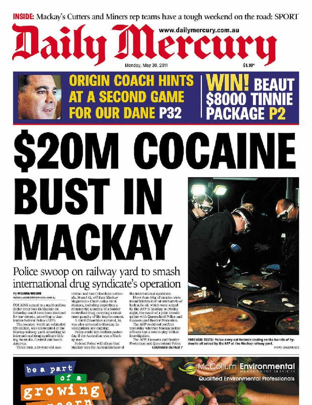 Mackay has its share of major busts.
