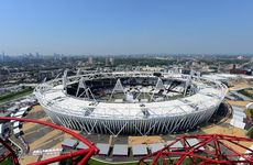 The London Olympic Stadium.