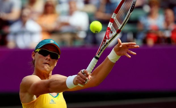 Sam Stosur at the London Olympics