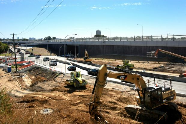 Work is humming along on the Banora Point Pacific Highway Upgrade. A new northbound off-ramp will open this weekend.
