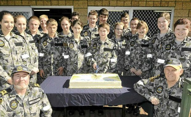 Grafton's Naval Cadets from TS Shropshire were celebrating their 30th at their Grafton base.