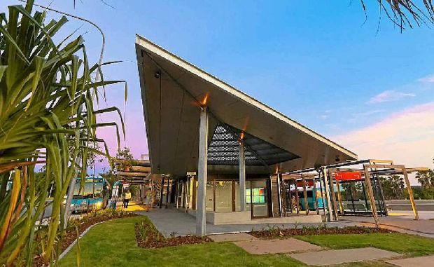 The new Noosa Junction bus station has won an award for its outstanding urban design.