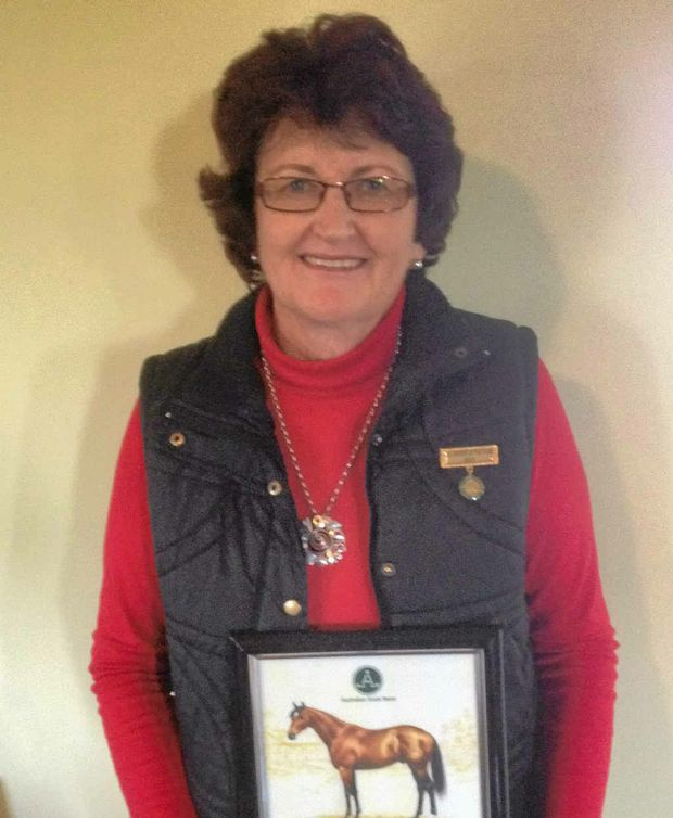Lorna Fanning has been awarded the Australian Stock Horse Society Volunteer of the Year Award.