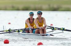The Australian team has had a good day in the rowing.