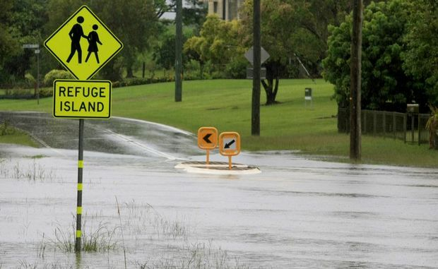 Floods around Murwillumbah last November. The council has commissioned an independent report into future floods.