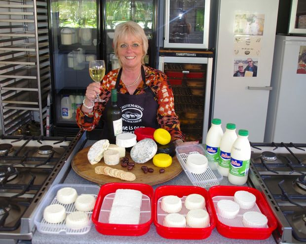 Cheese maker Lyndall Dykes will be running workshops in Tweed later this month.