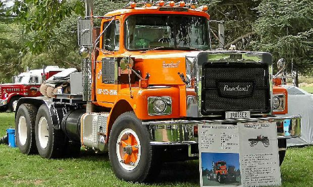 NOT FORGOTTEN: Ed Eminson's classic 1975 Brockway is a rig of renown.