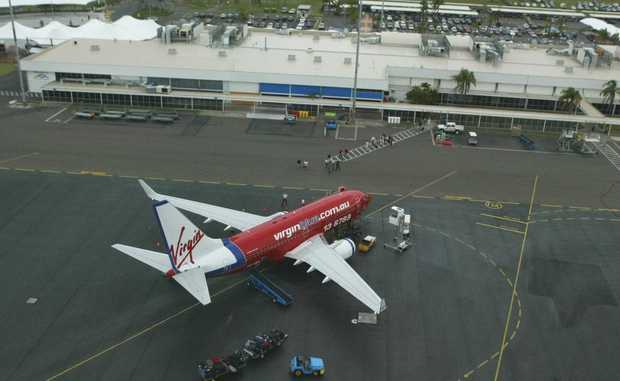The number of international visitors travelling through the Gold Coast Airport jumped more than 20% in June.