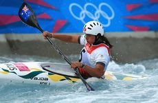 Jessica Fox has won silver in the women's kayak.